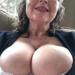 I want your warm cum on my tits