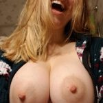 My boobs were naturally enhanced by becoming a MILF.