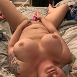 My tits look big even when I lay down. Wanna see them bounce when I get pounded?