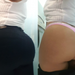 Since everybody keeps asking me how I fit my big ass into a pair of jeans , I thought I'd show you an on and off pic, enjoy! Thicc Latina Mami (F) 45 💕❤