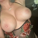 All I want is my tits played with every morning, afternoon and night!