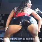 Wet Twerking Contest in Key West with Naked Girls