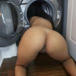 Wanna put a load in me while I put a load in the wash?